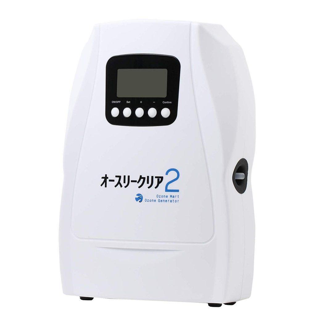 【2019年】脱臭に最強のおすすめオゾン発生器ランキング5選-花粉やたばこ