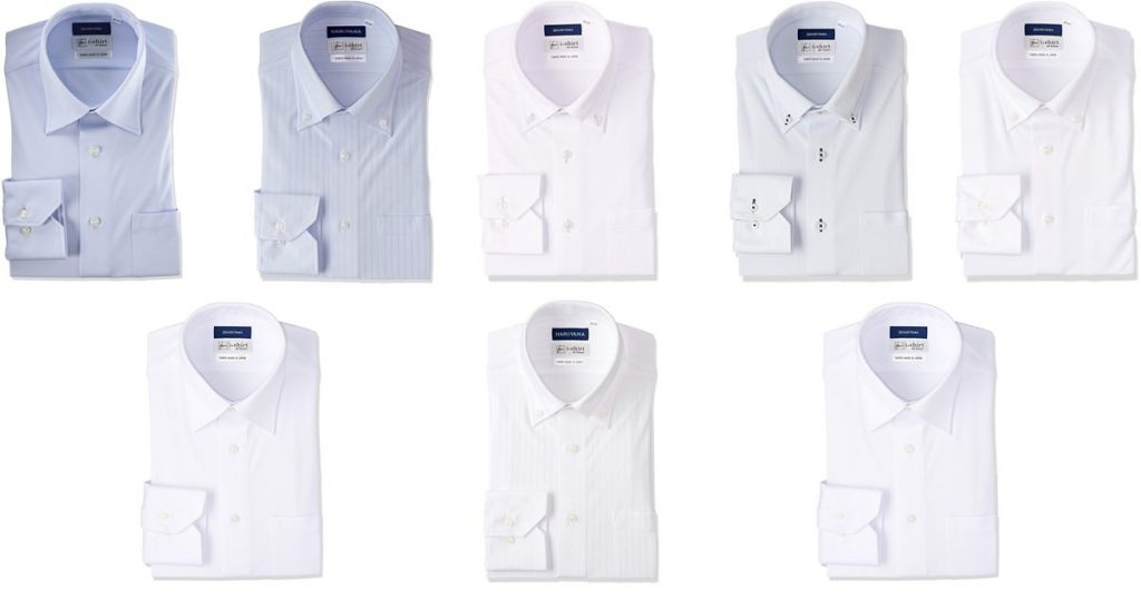 ハルヤマi-shirtは使いやすい8種類をラインナップ