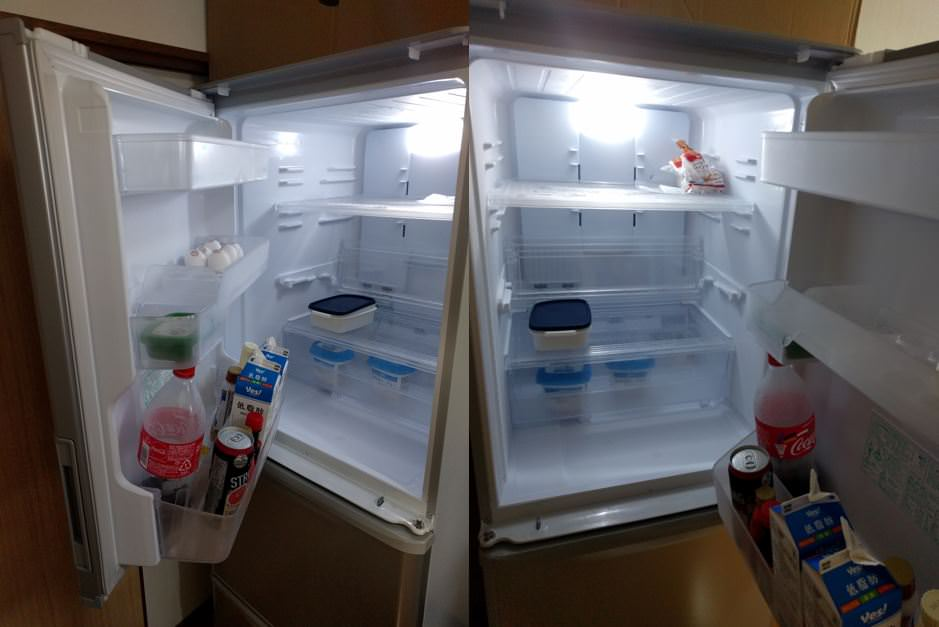 シャープ冷蔵庫SJ-W351Eは一人暮らしには十分すぎる大容量