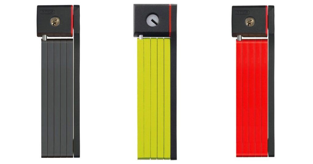 アブスABUSのブレードロックは3種類のデザイン