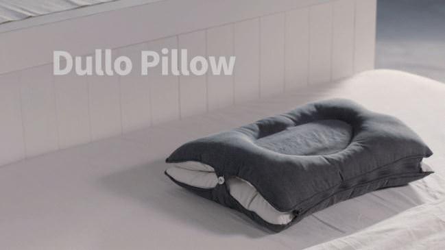 【Dullo すき間ZERO快眠枕】頭をゆりかごのように揺らす枕