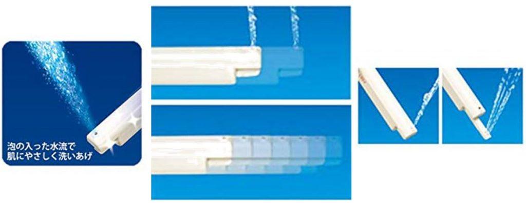 東芝の温水洗浄便座SCS-T160は泡の入ったノズルがすごい!