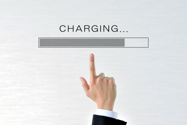 バッテリーの稼働時間をチェック