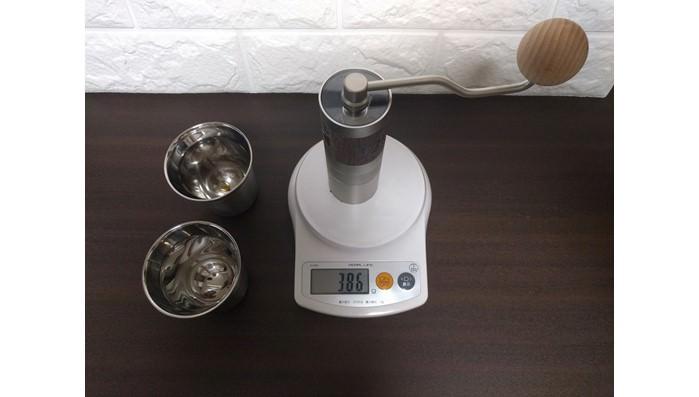 1ZPRESSOコーヒーグラインダーZproQ2の重さは