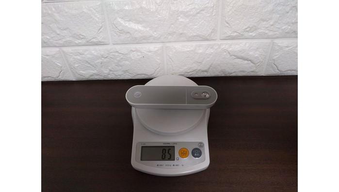 マハトンMahatonトイレUV-C除菌器の重さは85g